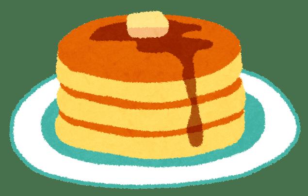 パンケーキとホットケーキの違い!生まれた国と食のカテゴリーが違う!?